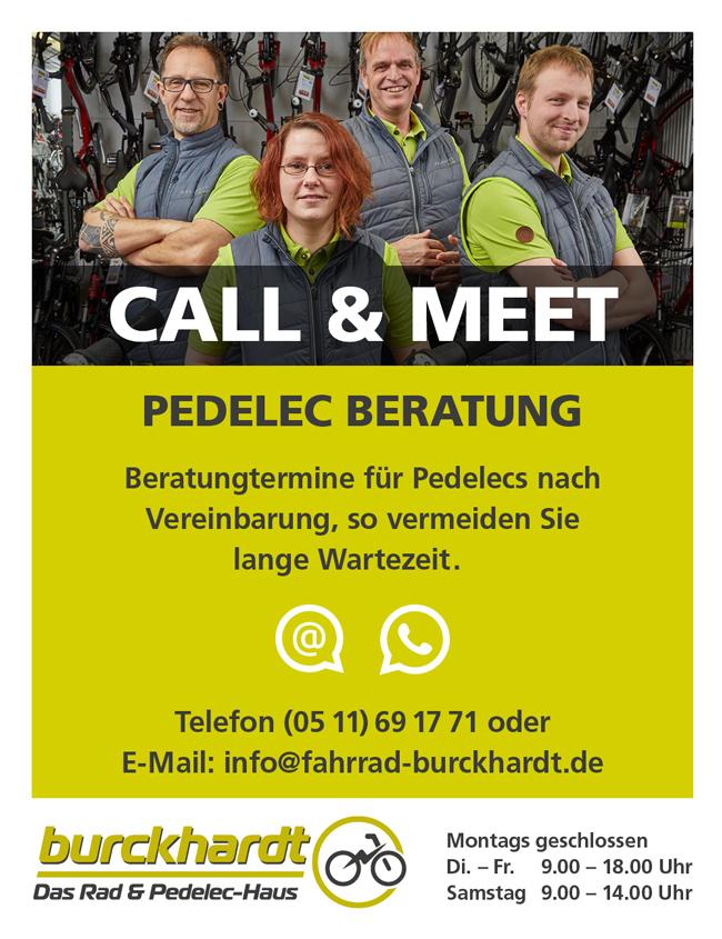 Call & Meet bei Fahrrad Burckhardt